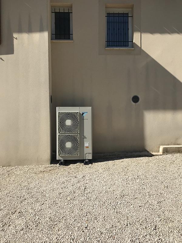 pompe a chaleur module externe